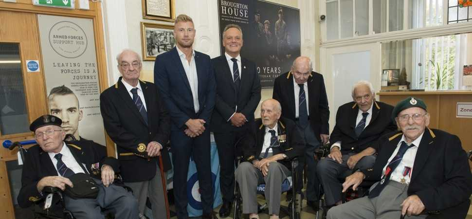 Freddie Flintoff launches Broughton House blazers