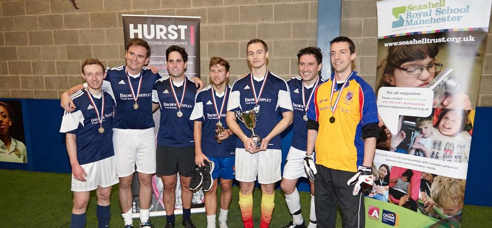 HURST football tournament boosts Seashell Trust