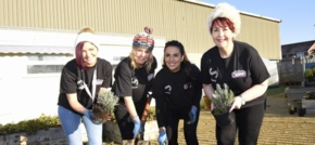 One Vision Housing help transform Merseyside community garden