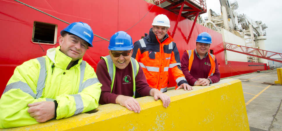 Historic Northumberland port receives green makeover thanks to local mental health charity