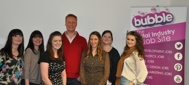 Bubble Jobs Partners Up With Manchester Creative Studio