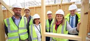 Grp Cynefin takes lead by using Welsh timber for Welsh homes