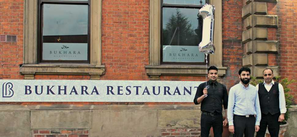 Bukhara Manchester celebrates one year in business