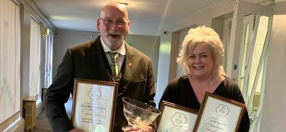Britain In Bloom Success For Charter Walk & Burnley Town Centre