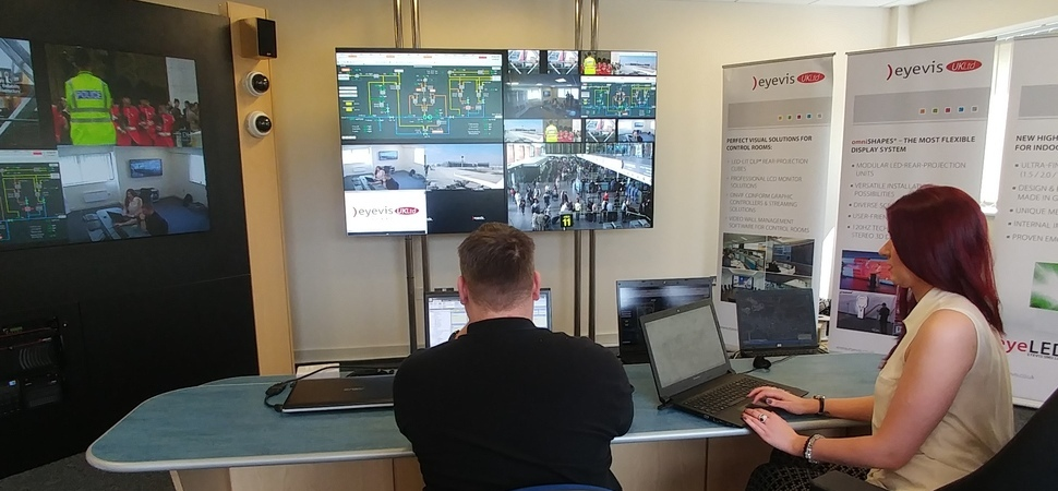 eyevis UK Helps Monitor The Secure Delivery Of Gas Supplies To Britain