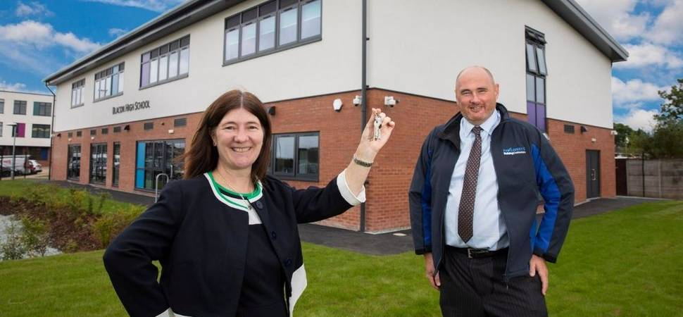 Net zero carbon extension for Chester school completed
