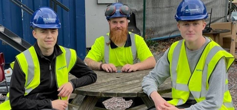 Next generation of craftsmen trained by Pave Aways