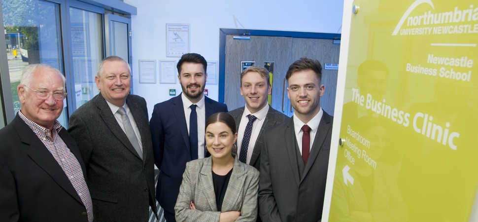 Northumbria students team up with Morpeth & District Chamber of Trade