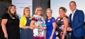 Salford care provider celebrates an award win from the Living Wage Foundation