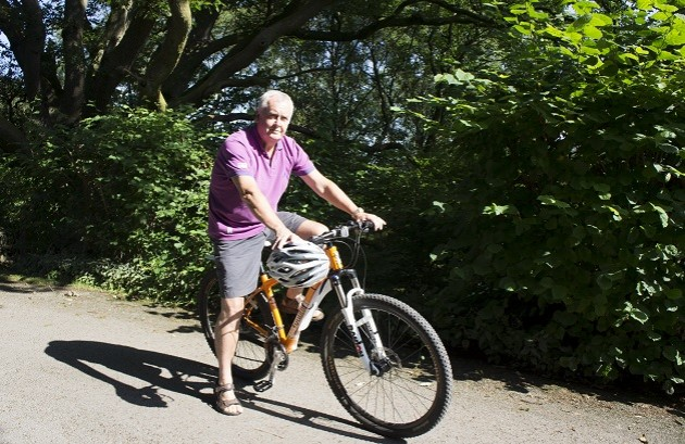 Businessman gets on his bike to work in tandem with Knowsley Chamber