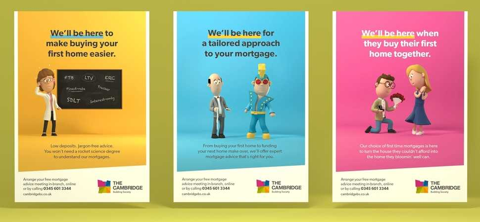 Creative agency Fluid Ideas develops new brand identity for The Cambridge Building Society