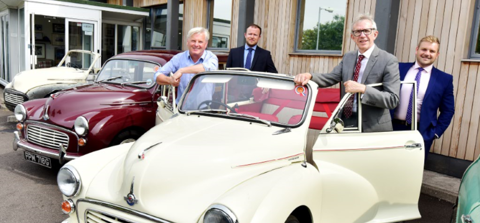 South West classic car restoration centre acquired with HSBC UK support