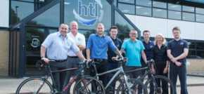 Global OEM take on huge cycling challenge to help ill children