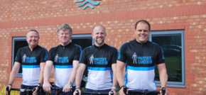 Teesside financial planners take on cycling challenge for Prostate Cancer UK