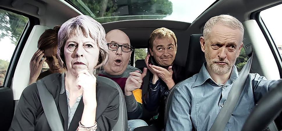 Corbyn Wins Landslide Election (in car share Poll)