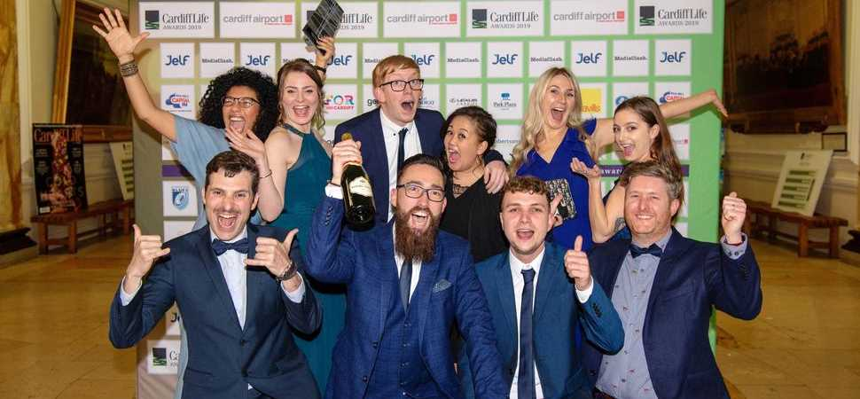 Illustrate Digital Wins THE Award For Top B2B Agency in the UK