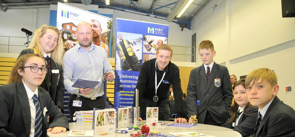 Regenda Homes gets the career carousel turning for Fleetwood pupils