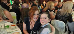 Blackpool young carer Joseph goes to the Ball and wins a standing ovation