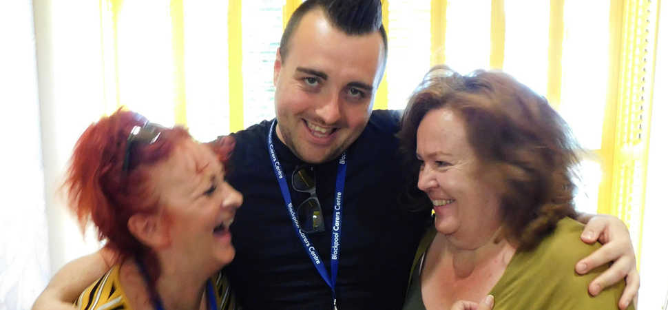 Not Waving but Drowning - Blackpool's adult carers on 'treading water'