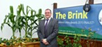 The grass is greener at The Brink thanks to its new allotment and garden space