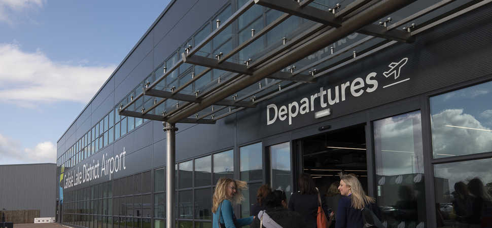A positive economic future takes-off at Carlisle Lake District Airport