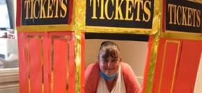 Carnival fun for care home residents