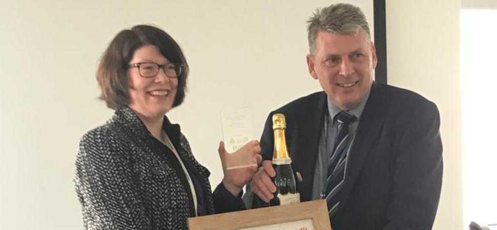 Businesswoman Wins Region's Top Innovation Award