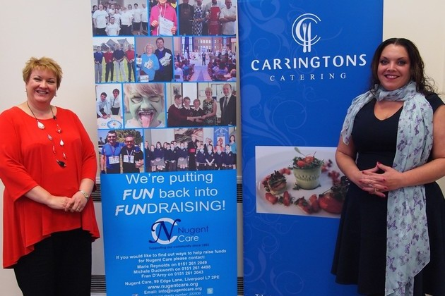 Carringtons Catering names Nugent Care chosen Charity of the Year