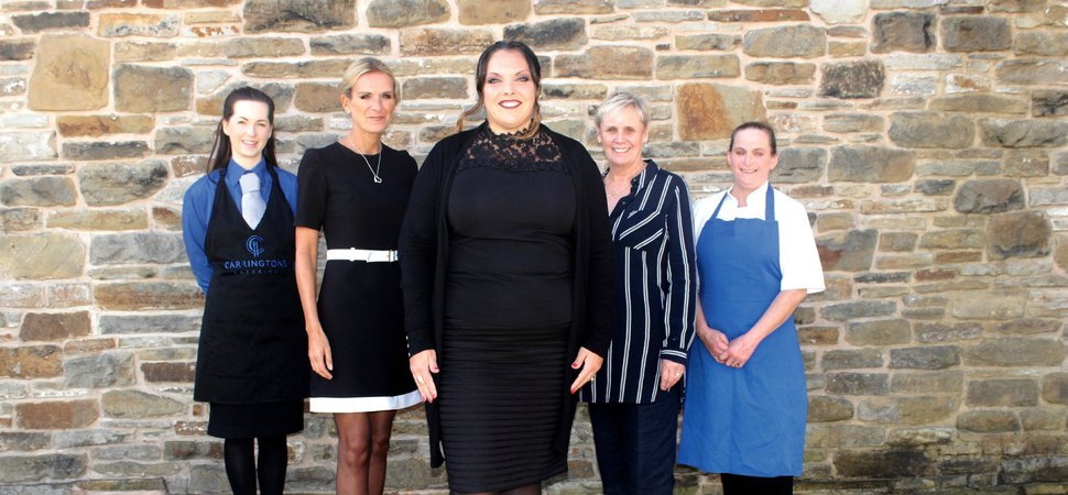 Carringtons Catering champions females in the hospitality industry