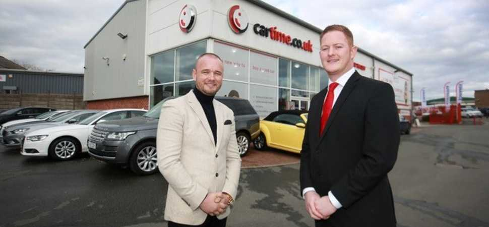Bury-based used car supermarket cartime is reporting a strong year of growth
