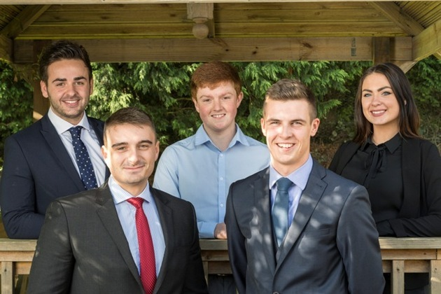 They're hired! Five fresh faces join Cassons' team