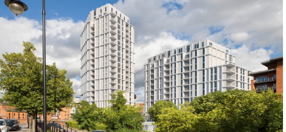 Castlefield Basin views threatened by Renaker towers