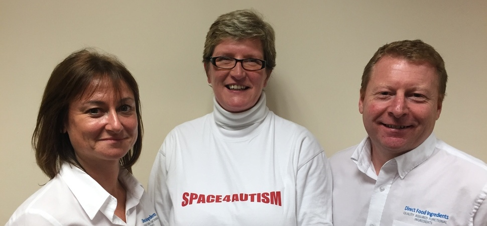Direct Food Ingredients Appoints SPACE4AUTISM as its 2016 Charity of the Year