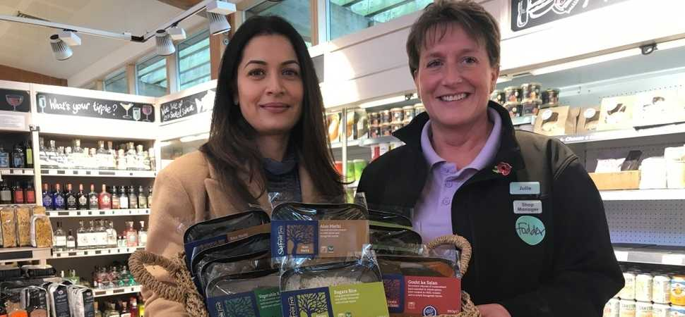 Entrepreneur curries favour with leading independent retailer