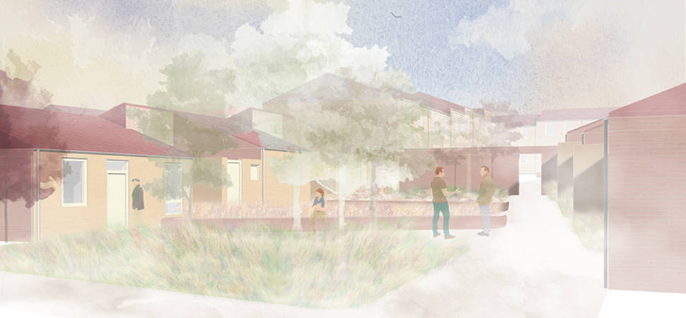Plans submitted for multi million pound Crook development