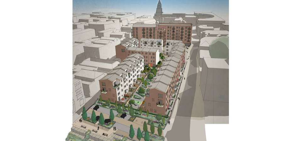 New landscape masterplan for Bolton scheme designed by CW Studio
