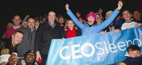 CEO Sleepout returns to Manchester