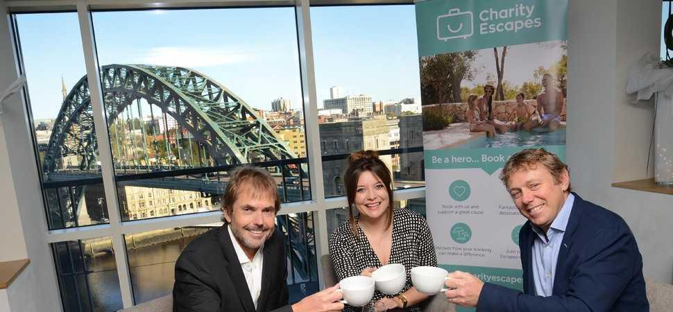 Charity Escapes at hotel conference in bid to raise 1st £1 million for charity