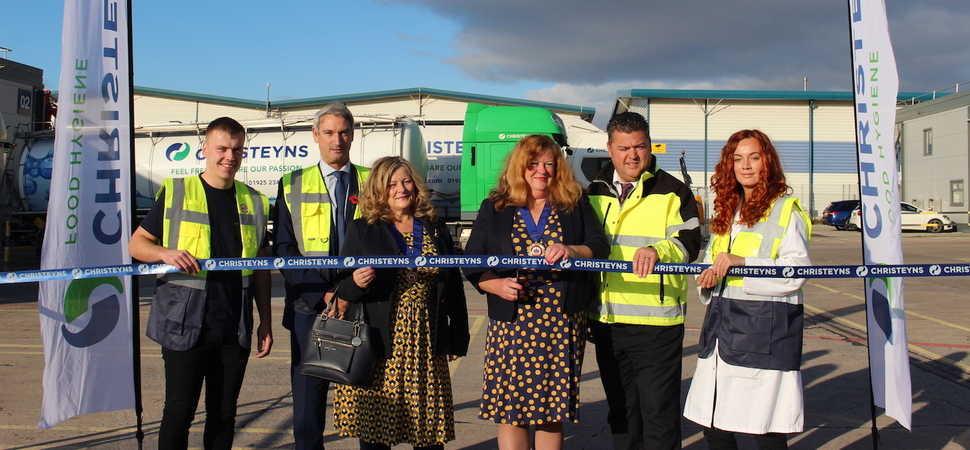 Warrington Mayor opens multi-million pound refurbished Winwick Quay site