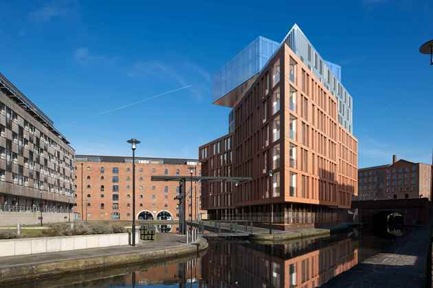 TCS submits plans for canalside apartment scheme in Manchester