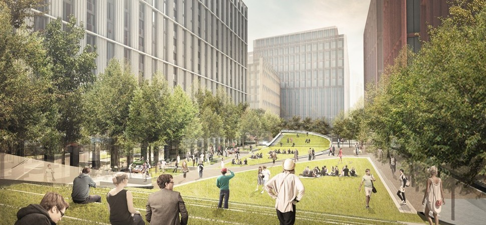 Circle Square taking shape at former BBC site