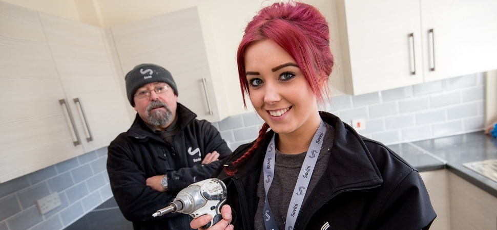 Top award for Sovini Property Services apprentice