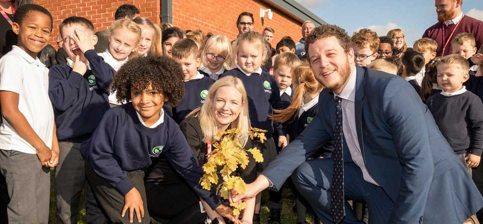 New £4m school in Chellaston helping to give children the best start in life