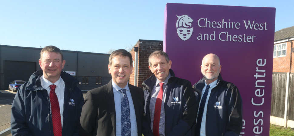 Excellent ranking for Wynne Construction's first scheme for Cheshire council