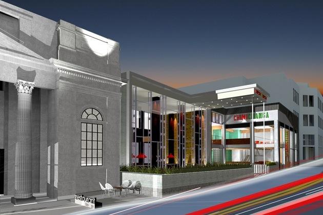 Chester's £8 million 'dining district' development commences