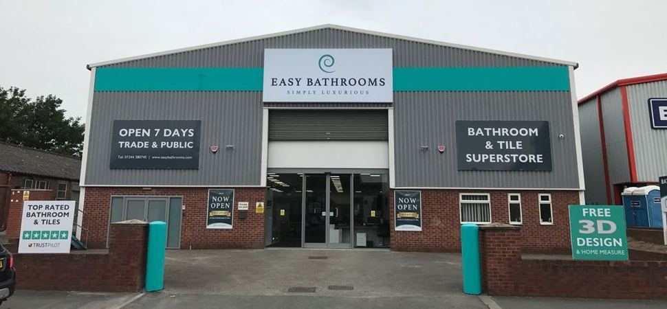 North West expansion for Easy Bathrooms