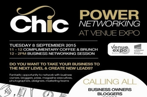 Chic Power Networking Session at The Venue Expo