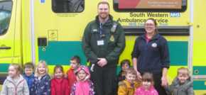 Exciting special visit for Taunton nursery children