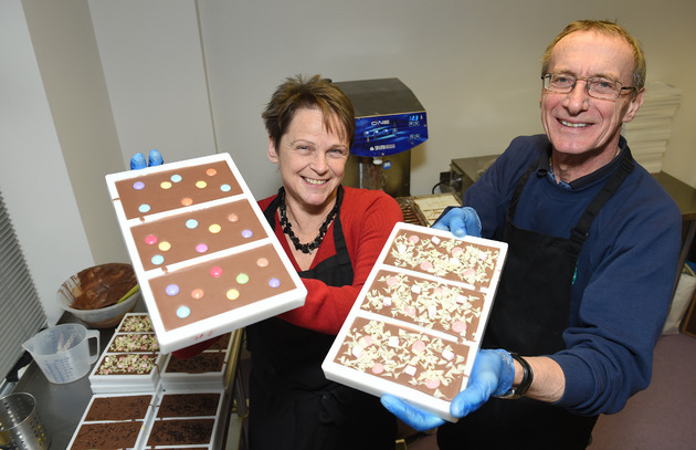 Chocolate firm tastes sweet success of growth