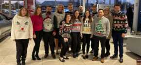 Local Volvo retailer gets behind Christmas Jumper Day